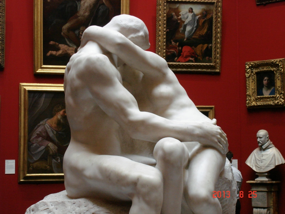 """The Kiss,"" by Auguste Rodin"