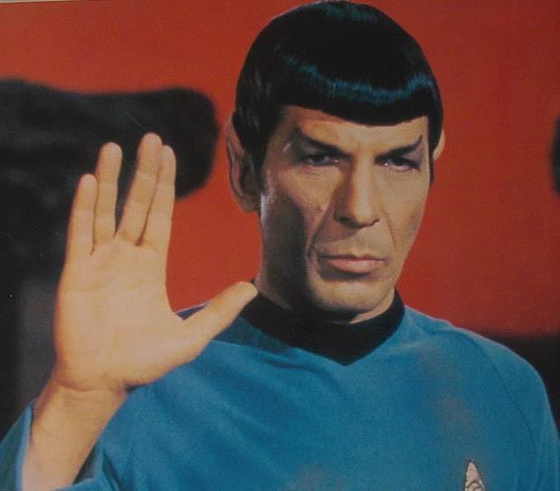 Leonard Nimoy as Spock 1913 - 2015